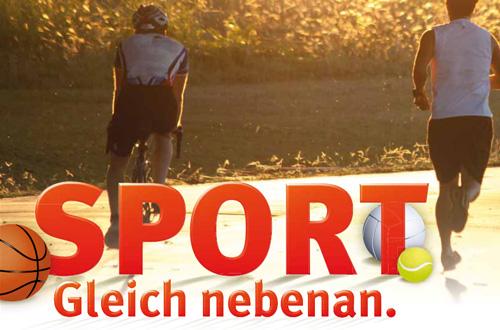 Sport. Gleich nebenan