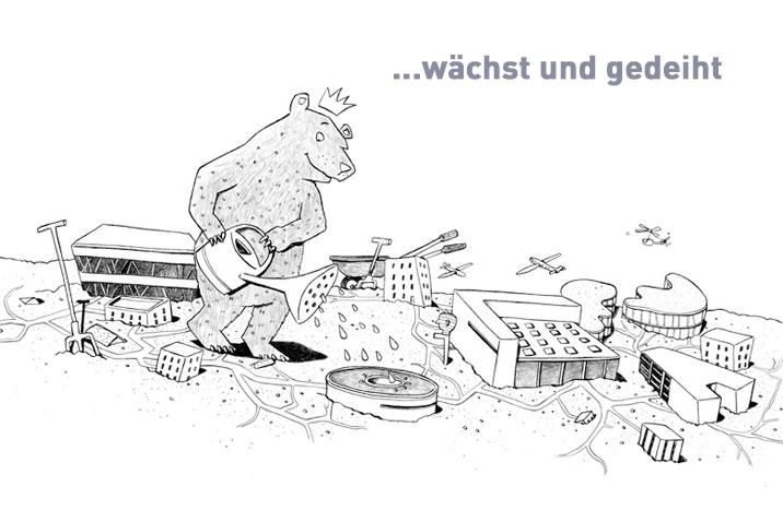 Illustration: Dorothee Mahnkopf. © WISTA