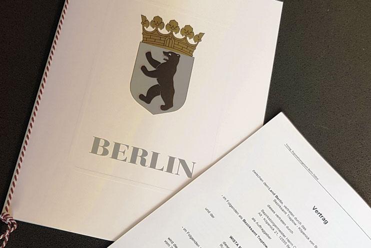Vertragsunterzeichnung RM Berlin Südost
