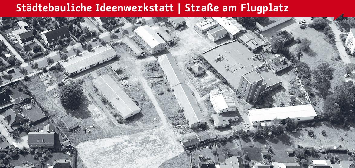 pr sentation zum st dtebaulichen wettbewerb stra e am flugplatz technologiezentrum berlin. Black Bedroom Furniture Sets. Home Design Ideas