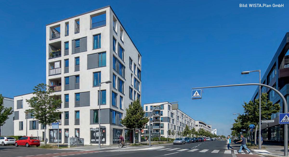 Wohnen am Campus Adlershof, Bild: © WISTA.Plan GmbH